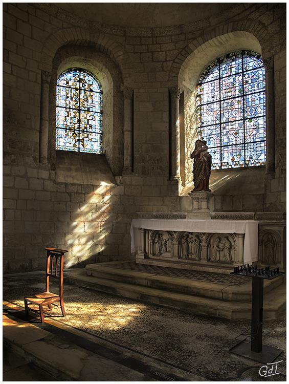 Abbaye Saint-Jean de Montierneuf - Poitiers #7434
