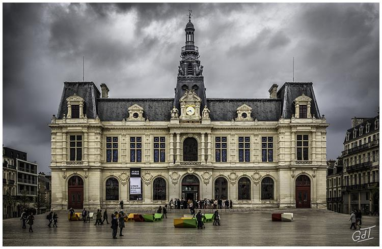 Poitiers - Mairie #7309