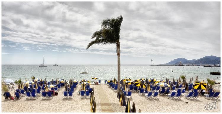 Cannes - la plage #5530