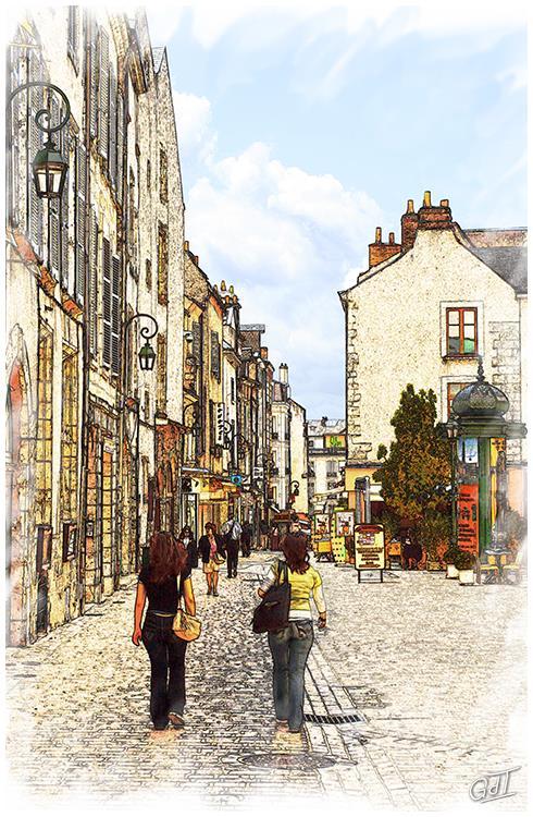 Orléans - Place de la République #1263