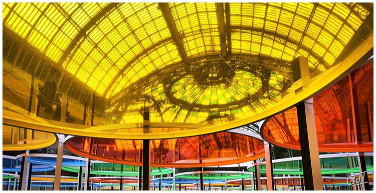 Paris - Buren au Grand Palais #19089