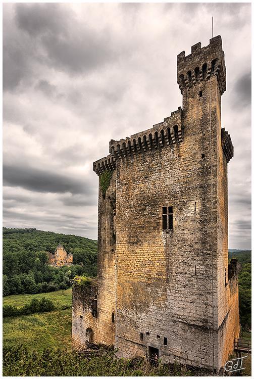 6D 3163 Chateau de Commarque